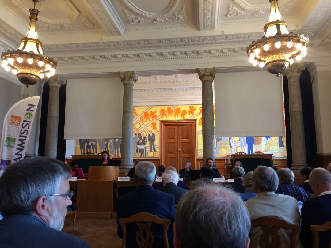 Høring på Christianborg den 2. september 2015