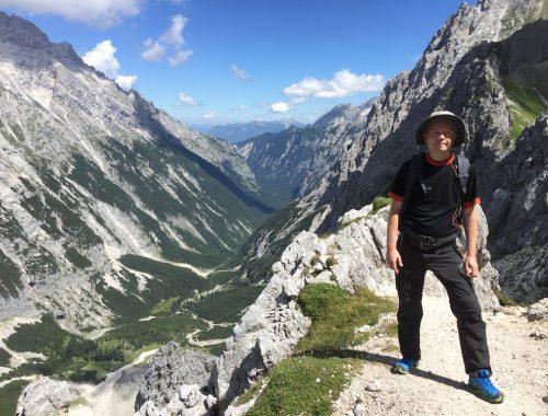 Vandretur ned fra Zugspitze