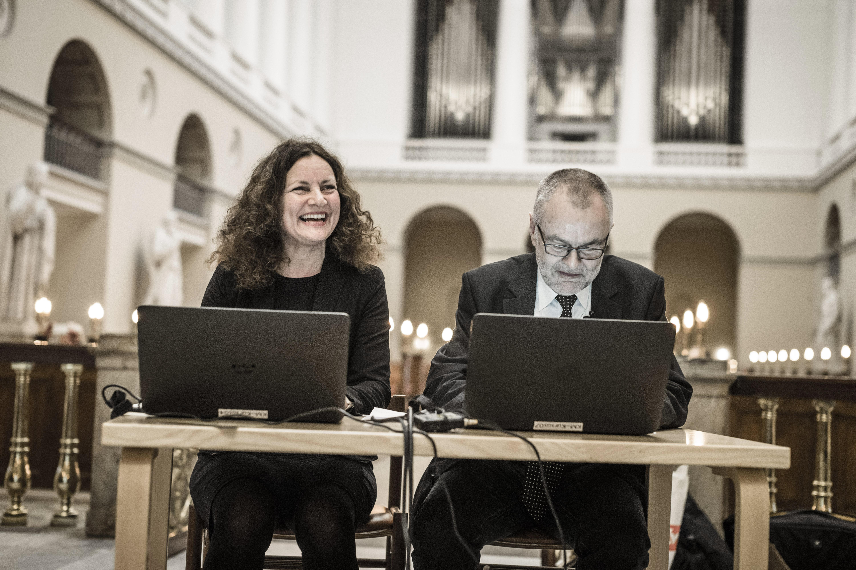 Sjælesorg på Nettet lanceres i Københavns Domkirke. Foto: Claus Bjørn Larsen