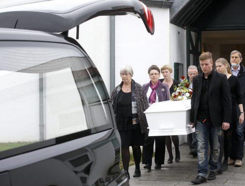 pårørende til begravelse