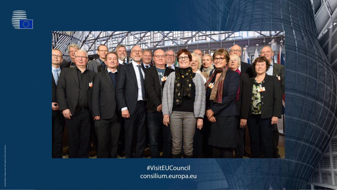 Folkekirkens biskopper og Mellemkirkeligt Råd på studietur til Bruxelles