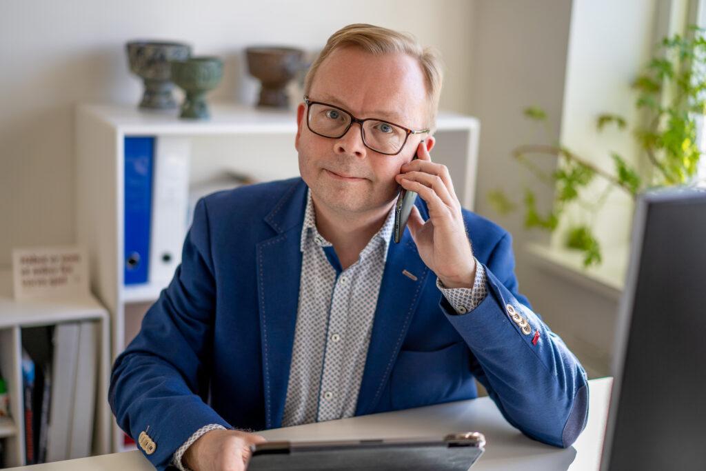 Christian Roar Pedersen - præst samtale sjælesorg